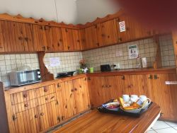 Communal self-catering kitchen