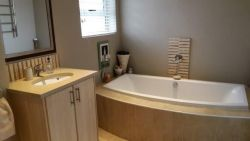 Two bedroom unit bathroom