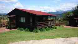 Self-Catering Log Chalet