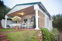 Stand alone 2 bedroom self catering cottage with covered verandah