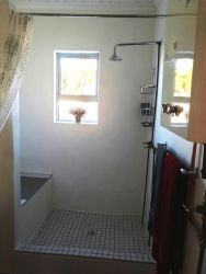 Shower with Bench