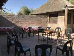 Spacious patio/Braai facilities.