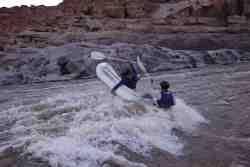 River Raft the mighty Orange River.
