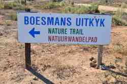 Boesmans Uitkyk is a walking route trough the Namaqualands beautiful flower fields.
