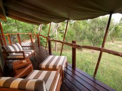 Kapama Buffalo Camp Tent Balcony
