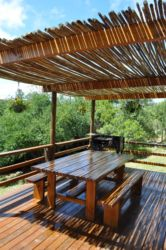 Deck at Katuri Cottage