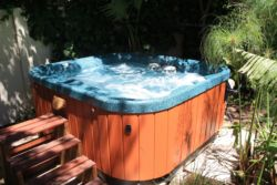 Our Jacuzzi for perfect relaxation!