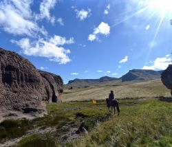 Our Famous Lesotho Horse Trail ride