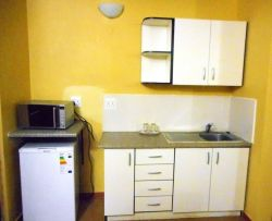 Self-catering kitchen.