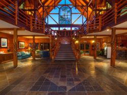 Magnificent Yellowwood Foyer
