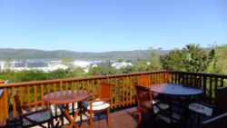 View from the Deck of Knysna Manor House