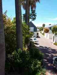 View into complex from patio