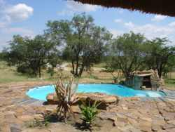 plunge pool at the lapa