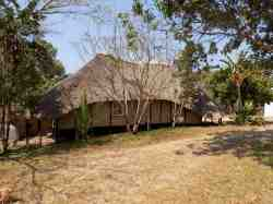 Pemba - our backpacker's chalet
