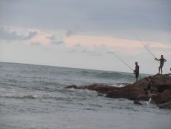 FISHING AT UVONGO