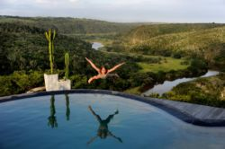 soaring like an eagle at L'aquila Lodge
