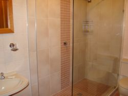 Shower for self-catering unit