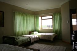 Room - sleeps 4 (One double bed and 2 single beds)