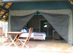 Luxury Tent with 2 x 3/4 beds