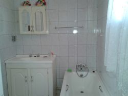 Bathroom - bath, vanity & shower (separate toilet)