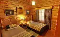 Timber Chalet Bedroom