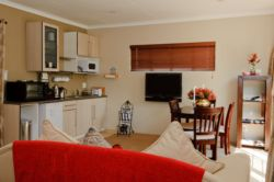 Spacious studio flatlets offer self-catering options