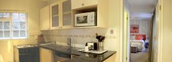 Fully equipped kitchen and lounge when booking room 7 & 8 (self-catering cottage)