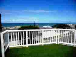 Panoramic views from deck