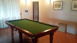 Large pool/snooker table