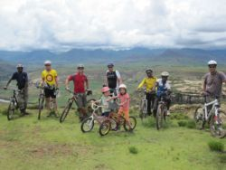 Mountain Bike trails at Malealea Lodge