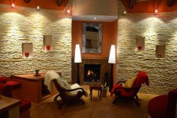 Mountain Lodge Fireplace