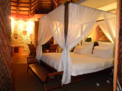 5* Mountain Lodge Bedroom
