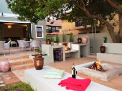 Fire pit and braai area