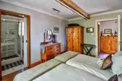 The second bedroom en-suite in The Chalet