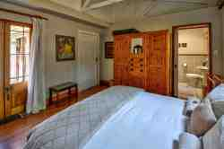 Master bedroom  in The Chalet