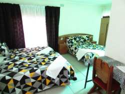 suite 7 en suite bathroom with television fridge microwave can sleep 4 people with double bed and 2 single beds