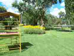 GARDEN AND PLAY AREA ON FARM