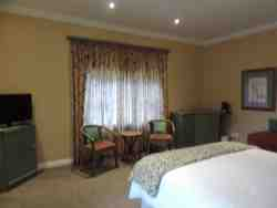 All rooms have TV, fridge, tea/coffee facilities, hairdrier and wall safe