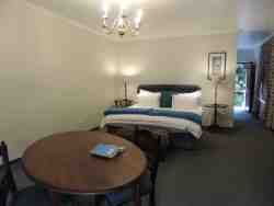Rooms can be made up as double or twin beds
