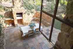 Wild Olive Cottage - View from BEdroom