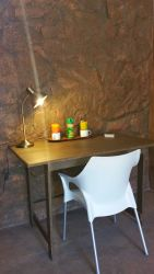 Desk in the barn rooms