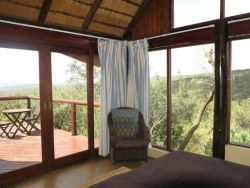 View from bedroom at Waterhole