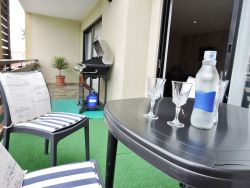 Balcony - furnished with Gas BBQ