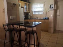 Mosselbay Accommodation Portobelo No.25 fully equipped kitchen