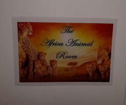 The Africa Animal Room