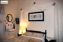 Room 8 - Angels & Butterflies. This room is ideal for a couple who prefer a double bed and bathroom with a shower.