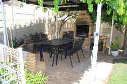 Pergola with braai,