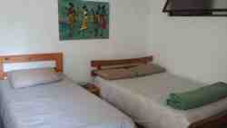 Family Room : Lower level with 1 Double & 1 Single bed (total sleeps 3)