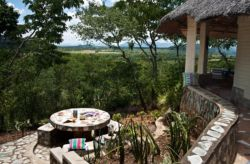 Each Lodge has its own braai stand with spectacular views over the Odzi River Valley.