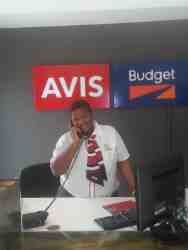 Avis/Budget Car Rental Reception Area